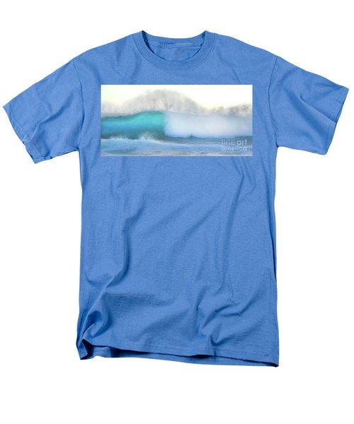 Men's T-Shirt  (Regular Fit) featuring the photograph Blue Wave by Kristine Merc