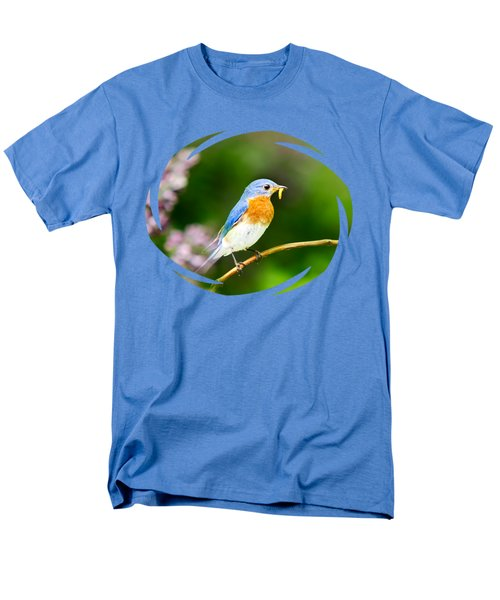 Bluebird Men's T-Shirt  (Regular Fit) by Christina Rollo