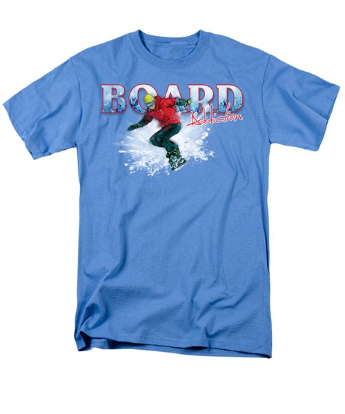 Board Addiction Men's T-Shirt  (Regular Fit) by Rob Corsetti