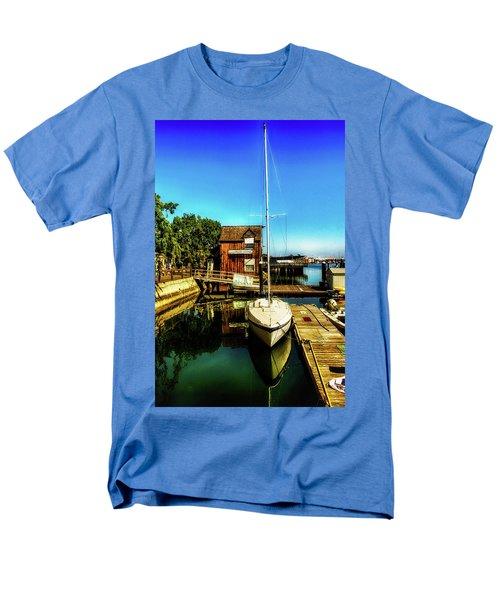 Boat Landing P O C Men's T-Shirt  (Regular Fit) by Joseph Hollingsworth