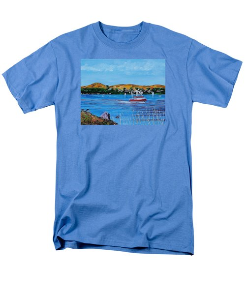 Bodega Bay From Campbell Cove Men's T-Shirt  (Regular Fit) by Mike Caitham