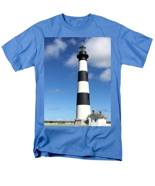 Bodie Island Lighthouse Cape Hatteras Men's T-Shirt  (Regular Fit) by Dorothy Maier
