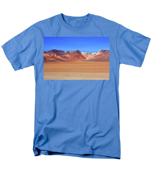 Men's T-Shirt  (Regular Fit) featuring the photograph Bolivian Altiplano  by Aidan Moran
