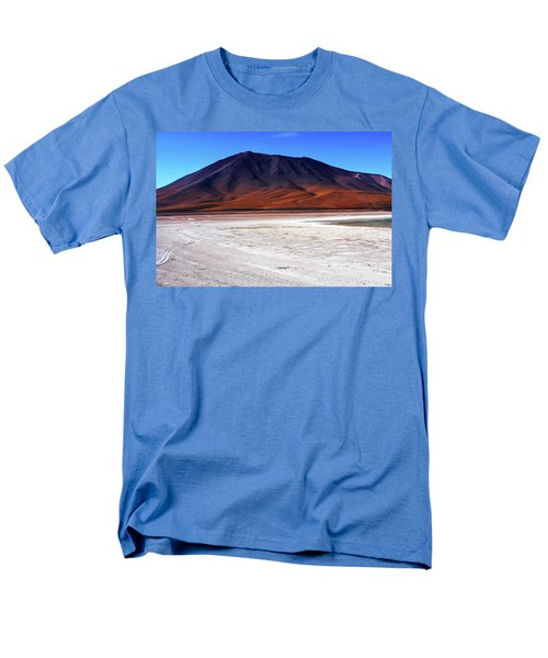 Men's T-Shirt  (Regular Fit) featuring the photograph Bolivian Altiplano, South America by Aidan Moran