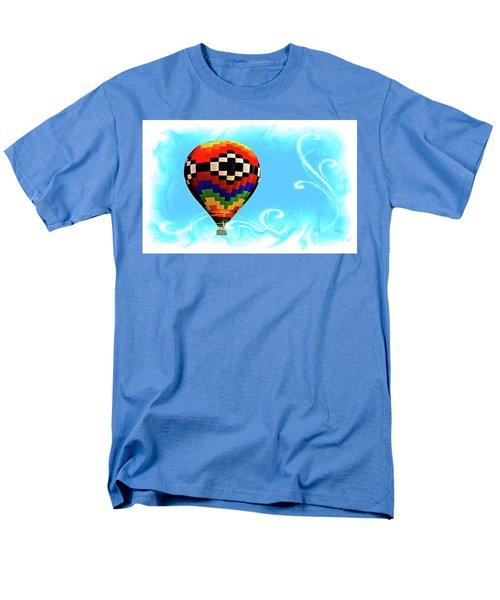 Men's T-Shirt  (Regular Fit) featuring the digital art Breezy by Gary Baird