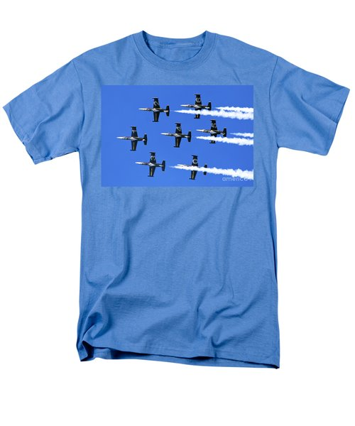 Breitling Air Display Team L-39 Albatross Men's T-Shirt  (Regular Fit) by Nir Ben-Yosef