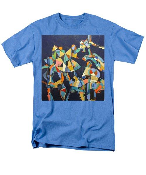 Men's T-Shirt  (Regular Fit) featuring the painting Broken Promises Last Forever by Bernard Goodman