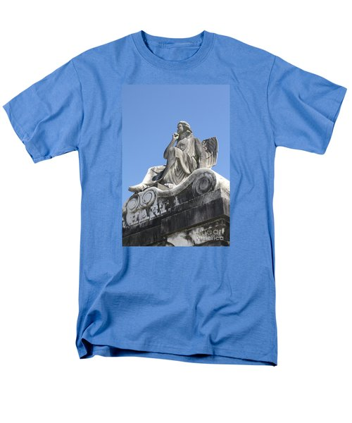 Men's T-Shirt  (Regular Fit) featuring the painting Broken Wing by Tbone Oliver