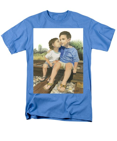 Brotherly Love Men's T-Shirt  (Regular Fit) by Ferrel Cordle
