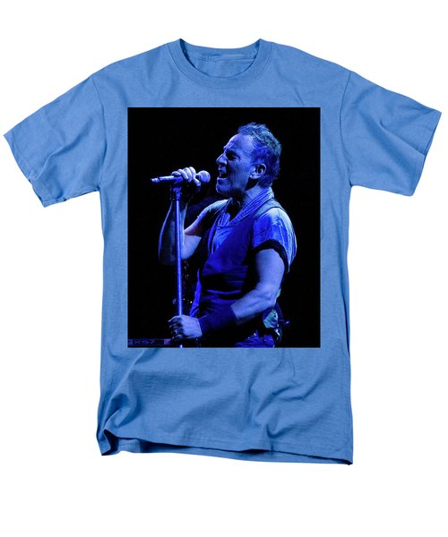 Bruce Springsteen-penn State 4-18-16 Men's T-Shirt  (Regular Fit) by Jeff Ross