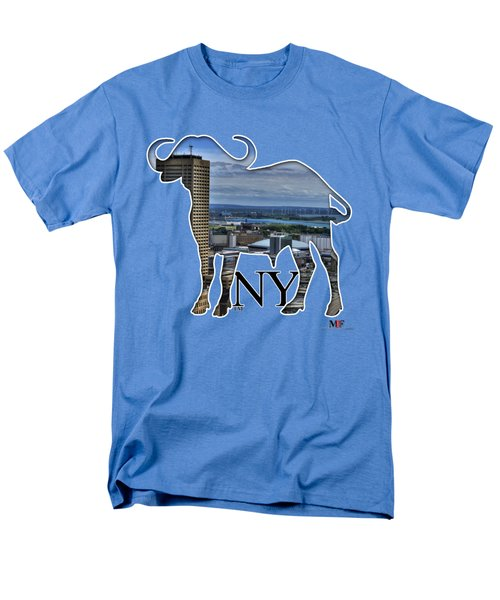 Buffalo Ny Skyway Men's T-Shirt  (Regular Fit) by Michael Frank Jr