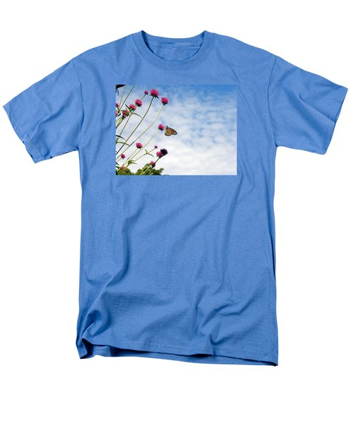 Men's T-Shirt  (Regular Fit) featuring the photograph Butterfly Magic by Teresa Schomig