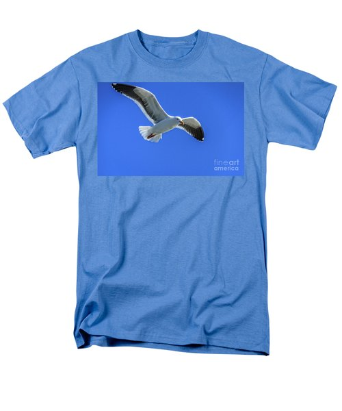 California Gull Men's T-Shirt  (Regular Fit) by Robert Bales
