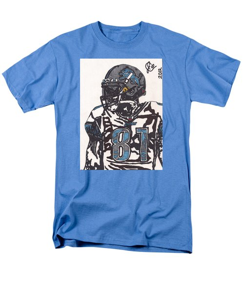 Calvin Johnson Jr 3 Men's T-Shirt  (Regular Fit) by Jeremiah Colley