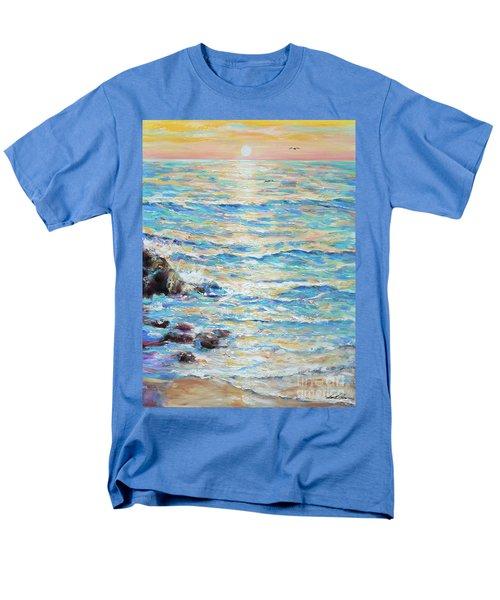 Cambria Rocks Men's T-Shirt  (Regular Fit)