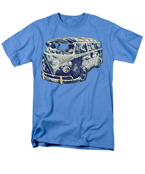 Camper Van Waves Men's T-Shirt  (Regular Fit) by John Colley