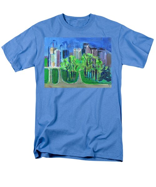 Men's T-Shirt  (Regular Fit) featuring the painting Campus by Betty Pieper