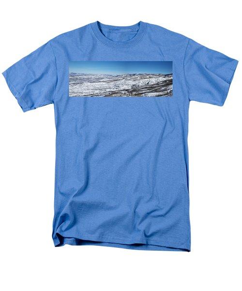 Can You Spot The Volcano Men's T-Shirt  (Regular Fit)