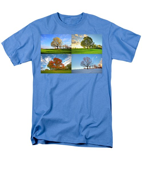 Canadian Seasons Men's T-Shirt  (Regular Fit) by Mircea Costina Photography