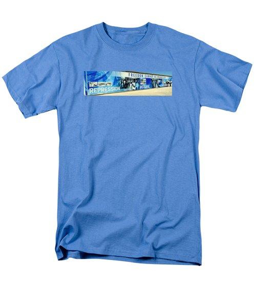 Cape Town Prison Sign Men's T-Shirt  (Regular Fit) by John Potts