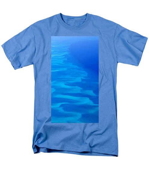 Men's T-Shirt  (Regular Fit) featuring the photograph Caribbean Ocean Mosaic  by Jetson Nguyen