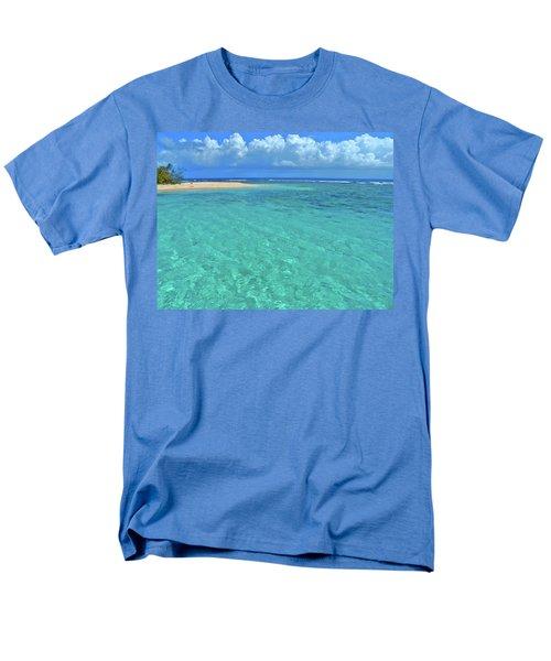 Caribbean Water Men's T-Shirt  (Regular Fit) by Scott Mahon