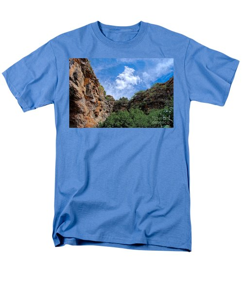 Men's T-Shirt  (Regular Fit) featuring the photograph Carlsbad Caverns by Gina Savage
