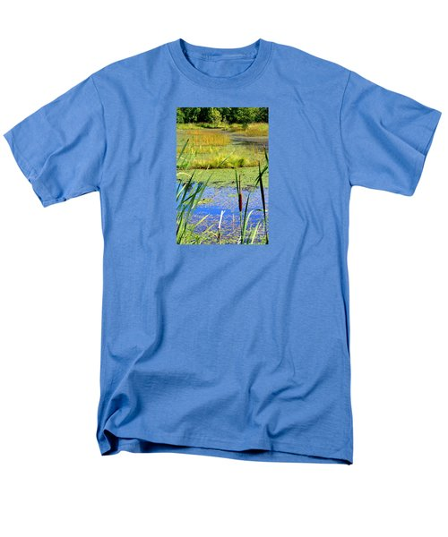 Cattail Men's T-Shirt  (Regular Fit) by Chris Anderson