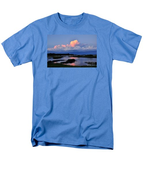 Cedar Key Sunset Men's T-Shirt  (Regular Fit) by Debbie Green
