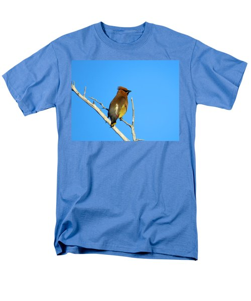 Cedar Waxwing Men's T-Shirt  (Regular Fit) by Dianne Cowen