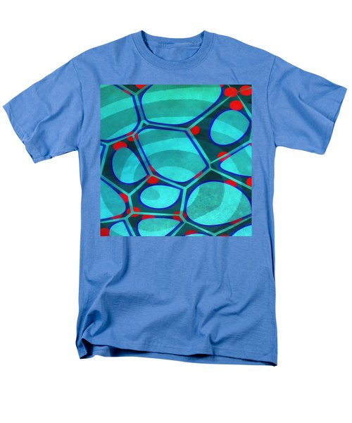 Cell Abstract 6a Men's T-Shirt  (Regular Fit) by Edward Fielding