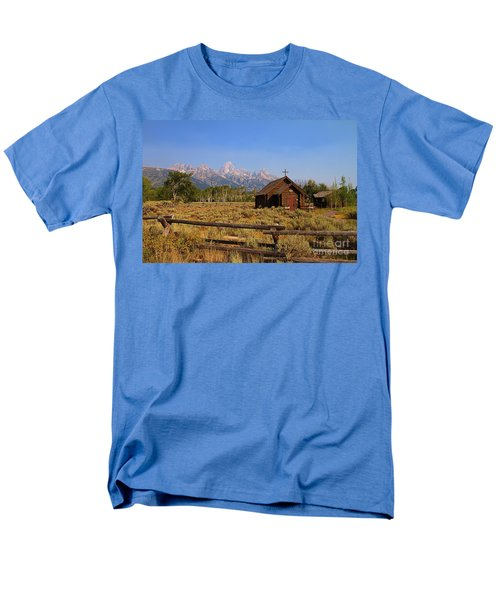Chapel Of The Transfiguration Men's T-Shirt  (Regular Fit)