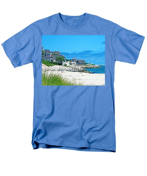 Chatham Cape Cod Men's T-Shirt  (Regular Fit) by Lizi Beard-Ward
