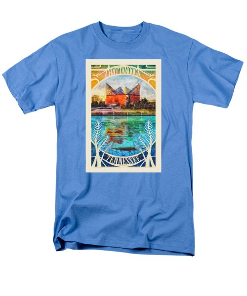 Chattanooga Aquarium Poster Men's T-Shirt  (Regular Fit) by Steven Llorca