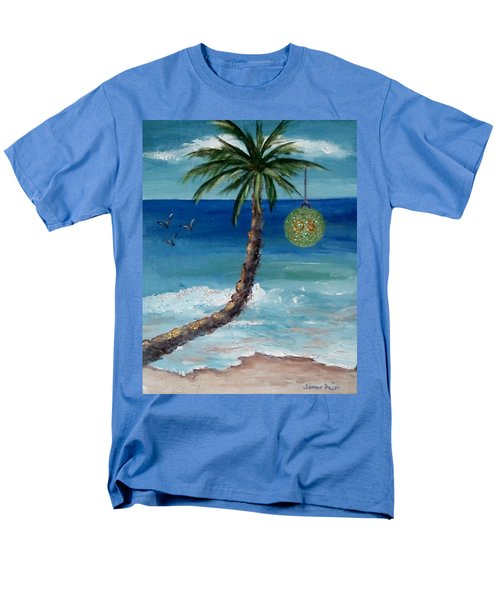 Men's T-Shirt  (Regular Fit) featuring the painting Christmas 2008 by Jamie Frier