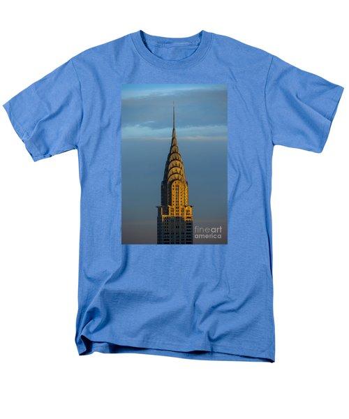 Chrysler Building In The Evening Light Men's T-Shirt  (Regular Fit) by Diane Diederich