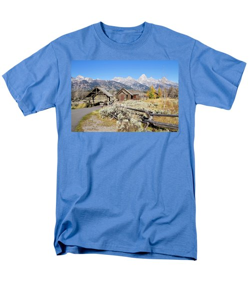 Men's T-Shirt  (Regular Fit) featuring the photograph Church Of The Transfiguration by Shirley Mitchell