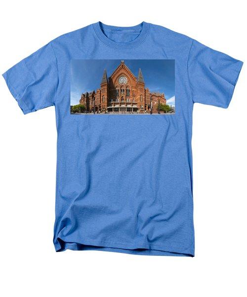 Cincinnati Music Hall Men's T-Shirt  (Regular Fit) by Rob Amend