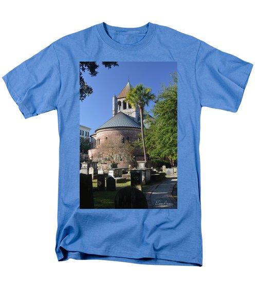Circular Congregational Chuch 2 Men's T-Shirt  (Regular Fit) by Gordon Mooneyhan