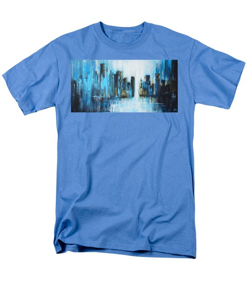 City Blues Men's T-Shirt  (Regular Fit) by Theresa Marie Johnson