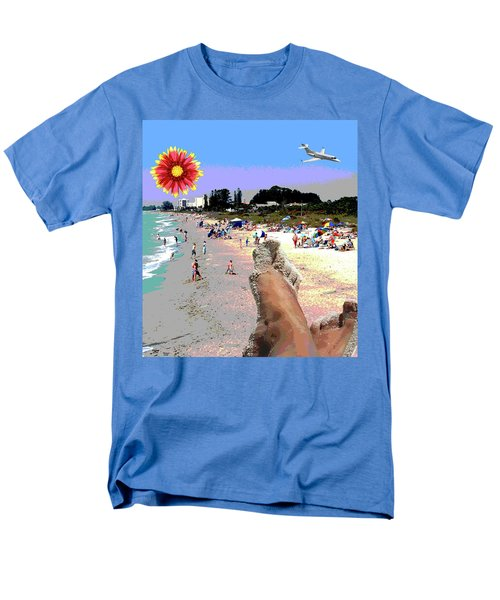 City On The Gluf Men's T-Shirt  (Regular Fit) by Charles Shoup