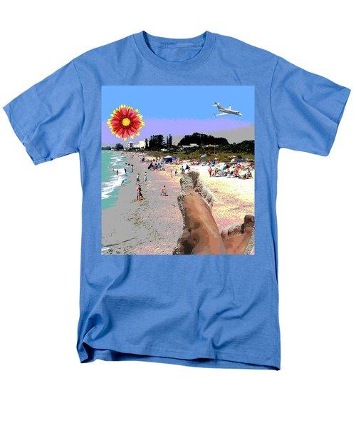 City On The Gluf Men's T-Shirt  (Regular Fit)