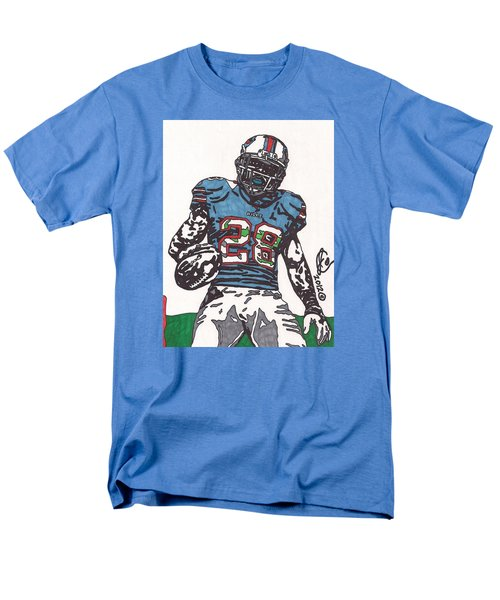 Cj Spiller 1 Men's T-Shirt  (Regular Fit) by Jeremiah Colley