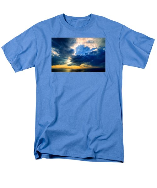 Clearing Storm Halibut Pt. Men's T-Shirt  (Regular Fit) by Michael Hubley