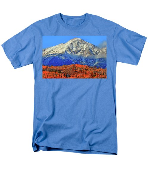 Men's T-Shirt  (Regular Fit) featuring the photograph Closing In On Fall by Scott Mahon