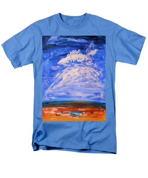 Men's T-Shirt  (Regular Fit) featuring the painting Clouds Dance by Mary Carol Williams