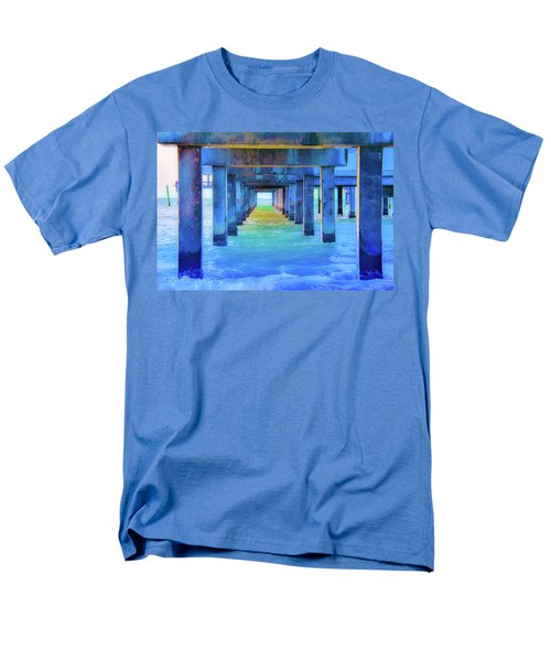 Cocoa Pier Men's T-Shirt  (Regular Fit) by Pamela Williams