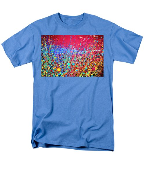 Men's T-Shirt  (Regular Fit) featuring the digital art Colorful Spring by Maja Sokolowska