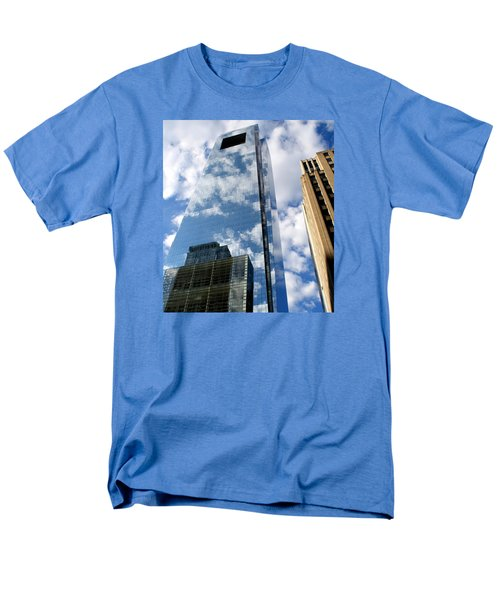 Men's T-Shirt  (Regular Fit) featuring the photograph Comcast Center by Christopher Woods