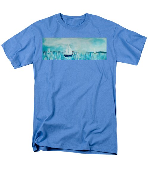Come Sail Away Men's T-Shirt  (Regular Fit) by Gary Smith